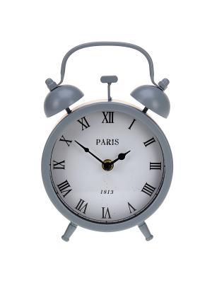 Часы настенны Mitya Veselkov. Цвет: белый, черный