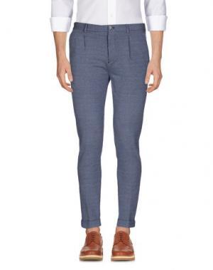 Повседневные брюки MANUEL RITZ. Цвет: грифельно-синий