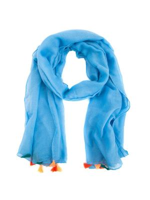 Палантины WESTFALIKA. Цвет: голубой