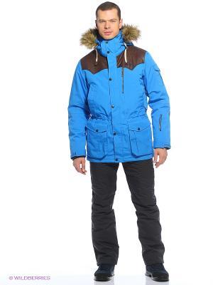 Куртка Tenson. Цвет: голубой