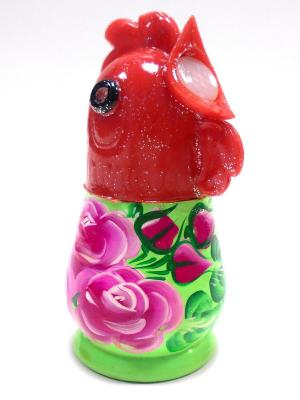 Солонка - Петушок зеленый Taowa. Цвет: зеленый