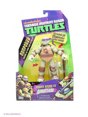Фигурка Черепашка-ниндзя Донателло Playmates toys. Цвет: зеленый
