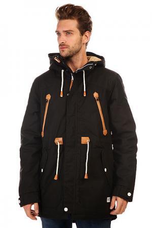 Куртка парка  Urban Parka CLWR. Цвет: черный