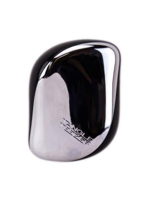 Расчески с крышкой Компакт стайлер старлет (серебро) Tangle Teezer. Цвет: черный, серебристый