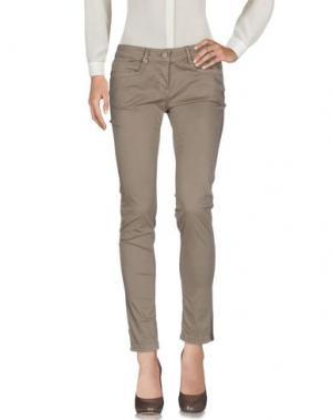 Повседневные брюки DEK'HER. Цвет: хаки