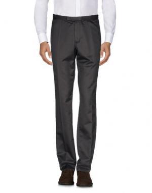 Повседневные брюки COSTUME NATIONAL HOMME. Цвет: темно-коричневый