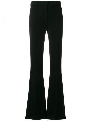 Классические расклешенные брюки Victoria Beckham. Цвет: чёрный
