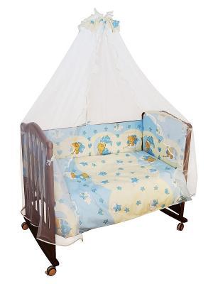 Борт Мишкин сон Сонный гномик. Цвет: голубой