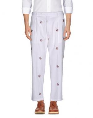 Повседневные брюки LC23. Цвет: белый
