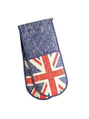 Двойная прихватка (серия Британский флаг) Dexam. Цвет: синий, красный, белый