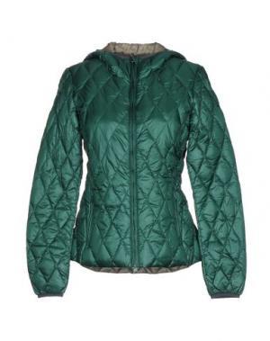 Пуховик BPD BE PROUD OF THIS DRESS. Цвет: изумрудно-зеленый