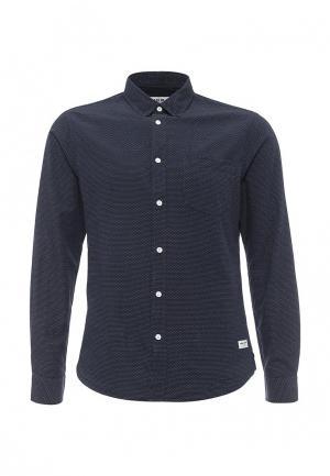 Рубашка Solid. Цвет: синий