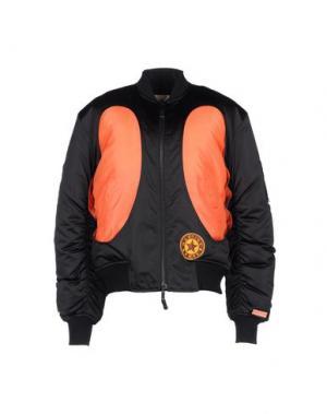 Куртка MARTINE ROSE. Цвет: черный