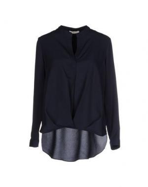 Блузка TOY G.. Цвет: темно-синий