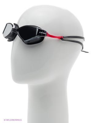 Очки плавательные S53UV Larsen. Цвет: черный, красный
