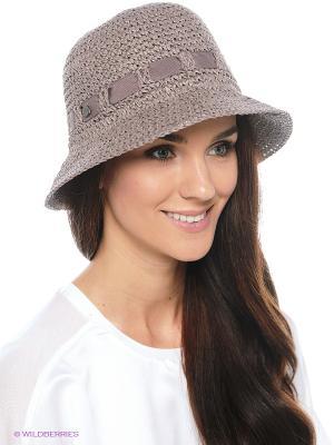Шляпа SEEBERGER. Цвет: серо-коричневый