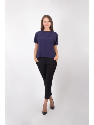 Блузка Minimum. Цвет: синий