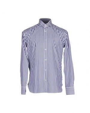 Pубашка DANOLIS. Цвет: темно-синий