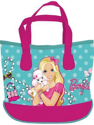 Сумка Barbie. Цвет: голубой, розовый