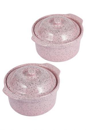 Кокотница Bisetti - Stonerose. Цвет: розовый
