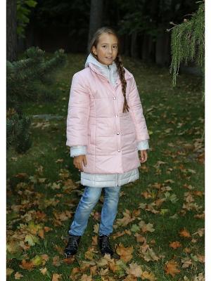 Пальто двойные MARIELA. Цвет: розовый