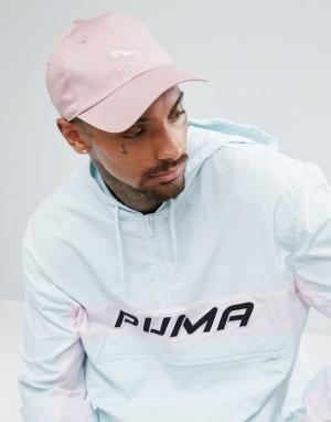 Puma Розовая кепка. Цвет: розовый