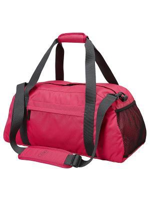 Сумка Training Essentials Gymbag ASICS. Цвет: розовый, серый