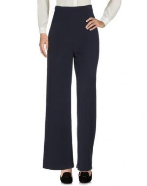Повседневные брюки LAVINIATURRA. Цвет: темно-синий