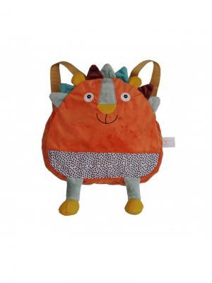 Ebulobo Рюкзачок Львенок Вуги. Цвет: коралловый, оранжевый