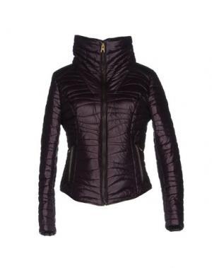 Куртка PIERO GUIDI. Цвет: баклажанный