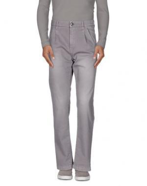 Повседневные брюки IT'S MET. Цвет: серый