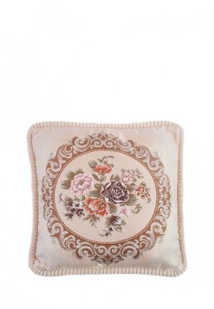 Подушка декоративная La Pastel. Цвет: бежевый
