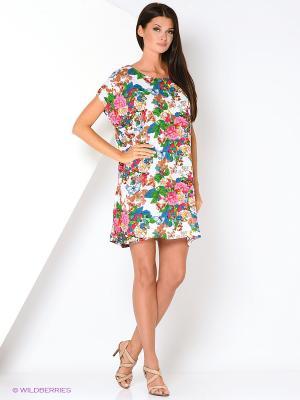 Туника текстильная Vittorio Richi. Цвет: розовый, синий, зеленый
