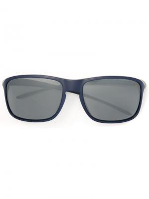 Солнцезащитные очки Tag Heuer. Цвет: синий