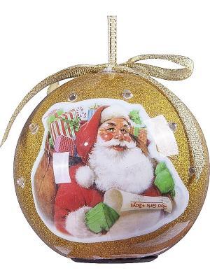 Шар Mister Christmas. Цвет: золотистый