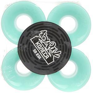 Колеса для скейтборда лонгборда  83A 59 mm Mint Вираж. Цвет: голубой
