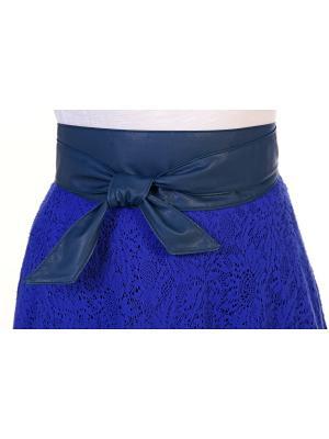 Пояс DANY DESENA. Цвет: голубой