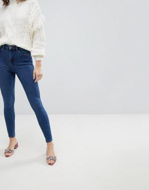 New Look Зауженные джинсы. Цвет: синий
