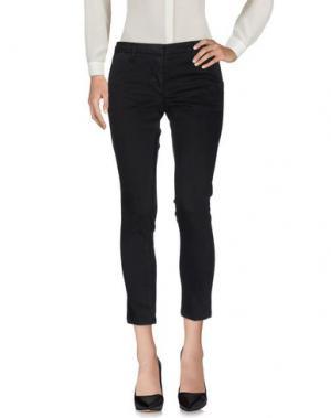 Повседневные брюки GABARDINE. Цвет: черный