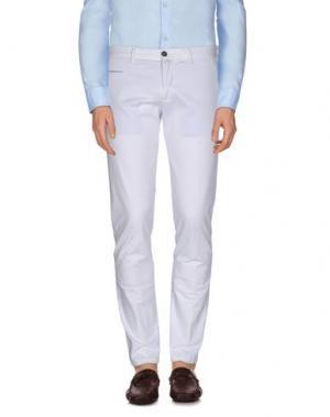 Повседневные брюки VERDERA. Цвет: белый