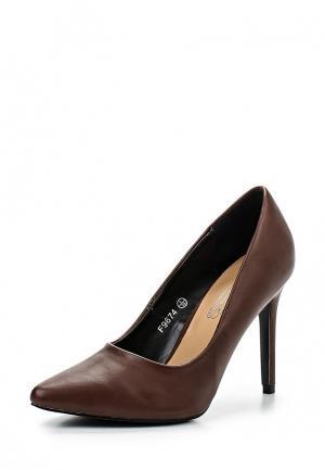 Туфли Spot On. Цвет: коричневый