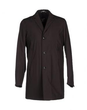 Пальто SUIT. Цвет: темно-коричневый