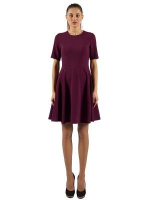 Платье AVELON. Цвет: фиолетовый