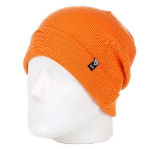 Шапка  Team One Orange Terror. Цвет: оранжевый