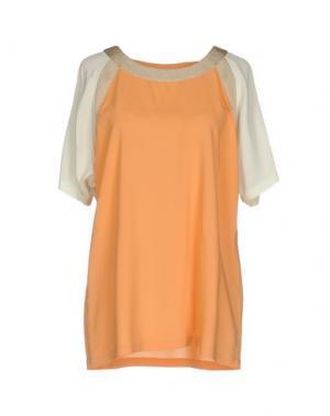 Блузка LORENA ANTONIAZZI. Цвет: оранжевый