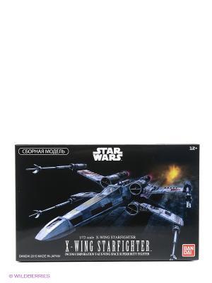 SW Сборная модель Истребитель X-Wing Fighter 1/72 Bandai. Цвет: черный