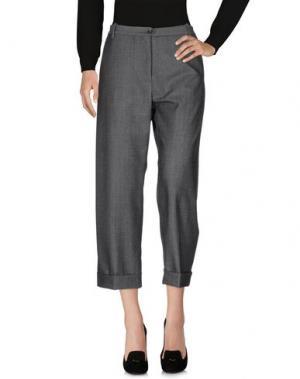 Повседневные брюки NINE:INTHE:MORNING. Цвет: свинцово-серый