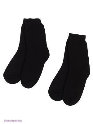 Носки, 2 шт Хох. Цвет: черный