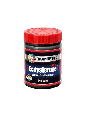 Ecdysterone (240 caps) Академия-Т. Цвет: красный