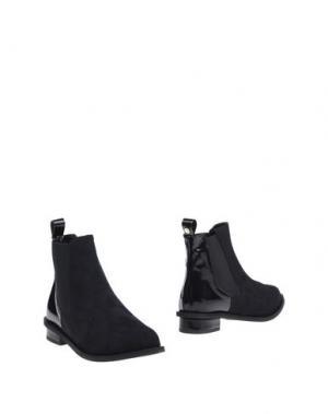 Полусапоги и высокие ботинки ANNARITA N.. Цвет: черный